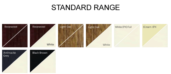 STANDARD WINDOW RANGE
